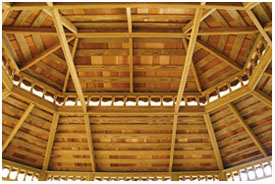 Oval Double Roof